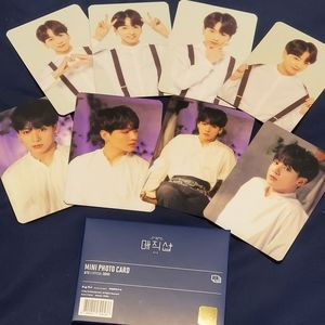BTS 5th Mustard Photocard Set of Jungkook